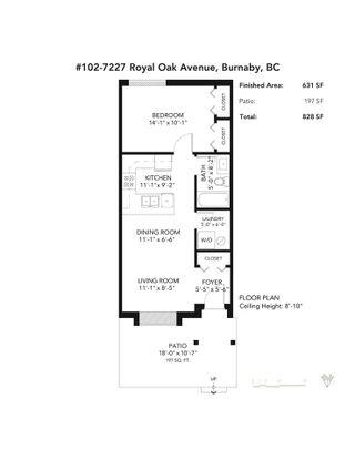 "Photo 17: 102 7227 ROYAL OAK Avenue in Burnaby: Metrotown Condo for sale in ""Viva"" (Burnaby South)  : MLS®# R2578439"
