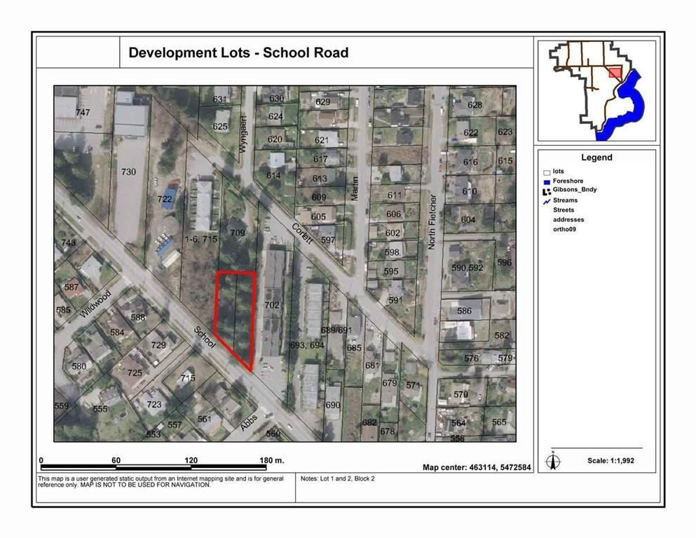 Main Photo: Lot 1&2 School Road in Gibsons: Home for sale : MLS®# R2117561