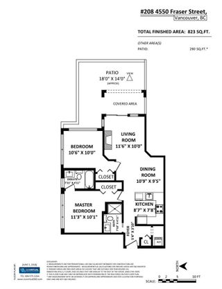 """Photo 14: 208 4550 FRASER Street in Vancouver: Fraser VE Condo for sale in """"Century"""" (Vancouver East)  : MLS®# R2277086"""