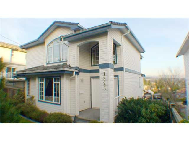 """Main Photo: 1323 JOHNSON Street in Coquitlam: Canyon Springs House for sale in """"CANYON SPRINGS"""" : MLS®# V890620"""