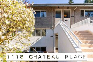 "Photo 1: 1118 CHATEAU Place in Port Moody: College Park PM Townhouse for sale in ""CHATEAU PLACE"" : MLS®# R2572180"