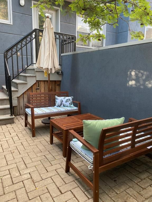 Your very own PRIVATE backyard just off your dining room! Enjoy your backyard oasis almost any time of the year!