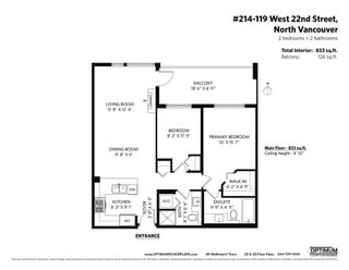 """Photo 28: 214 119 W 22ND Street in North Vancouver: Central Lonsdale Condo for sale in """"ANDERSON WALK"""" : MLS®# R2598476"""
