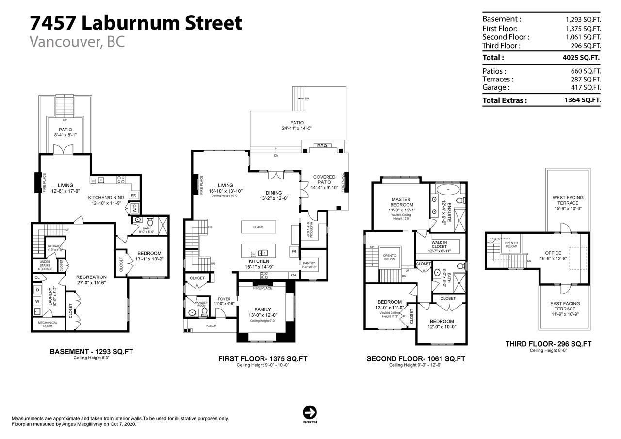 Photo 40: Photos: 7457 LABURNUM Street in Vancouver: S.W. Marine House for sale (Vancouver West)  : MLS®# R2507518