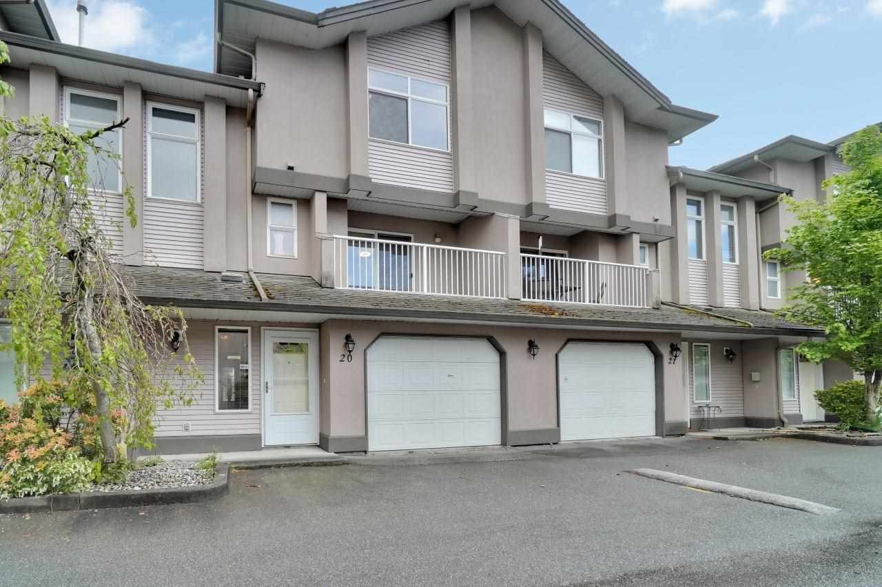 """Main Photo: 20 2538 PITT RIVER Road in Port Coquitlam: Mary Hill Townhouse for sale in """"River Court"""" : MLS®# R2577999"""