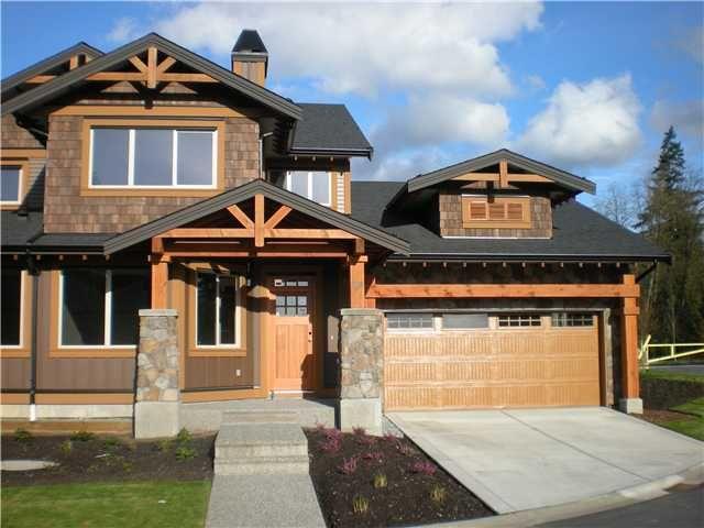 """Main Photo: 104 24185 106B Avenue in Maple Ridge: Albion 1/2 Duplex for sale in """"TRAILS EDGE"""" : MLS®# V1000386"""