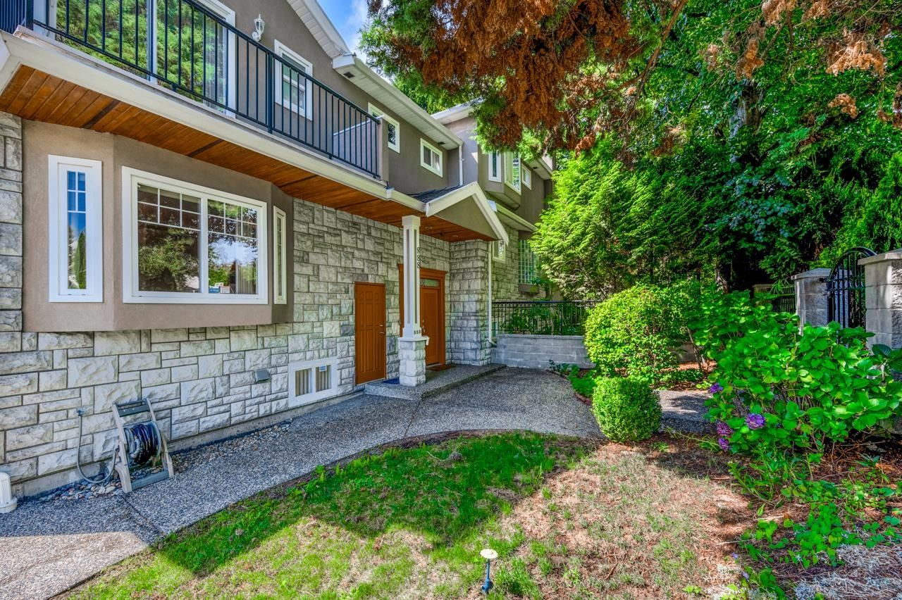 Main Photo: 888 W 70TH Avenue in Vancouver: Marpole 1/2 Duplex for sale (Vancouver West)  : MLS®# R2611004