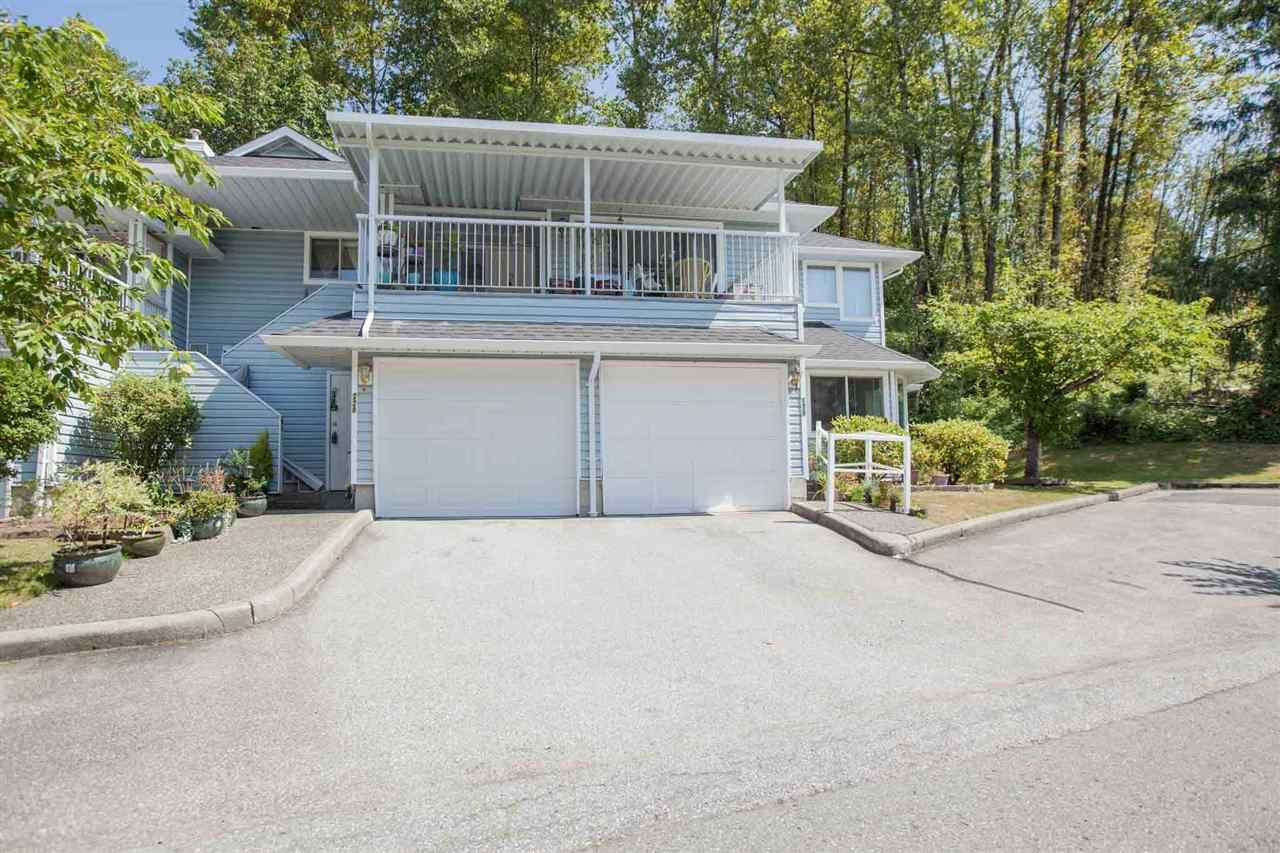 """Main Photo: 228 22555 116 Avenue in Maple Ridge: East Central Townhouse for sale in """"Hillside at Fraser Village"""" : MLS®# R2557464"""
