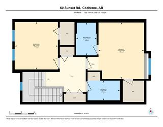 Photo 36: 60 Sunset Road: Cochrane Row/Townhouse for sale : MLS®# A1128537