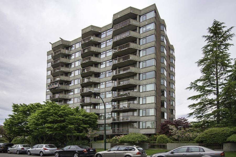 Main Photo: 804 2445 W 3rd Avenue in Vancouver: Kitsilano Condo for sale (Vancouver West)  : MLS®# R2163456