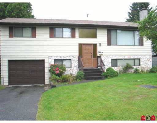 Main Photo: : House for sale : MLS®# F2719562