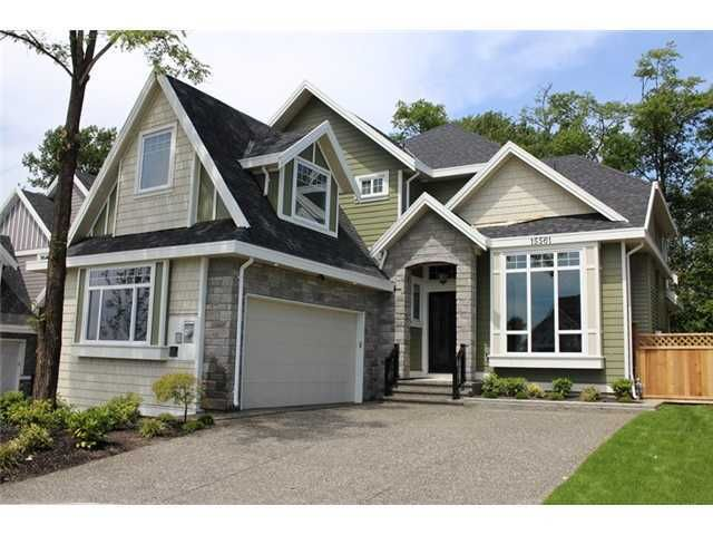 """Main Photo: 15561 80A Avenue in Surrey: Fleetwood Tynehead House for sale in """"FLEETWOOD PARK"""" : MLS®# F1401442"""
