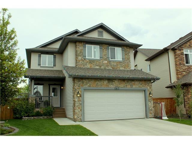 Main Photo: 242 CRYSTAL GREEN Point(e): Okotoks House for sale : MLS®# C4084538