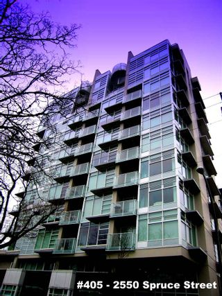 """Photo 1: 405 2550 SPRUCE Street in Vancouver: Fairview VW Condo for sale in """"SPRUCE (BY INTRACORP)"""" (Vancouver West)  : MLS®# R2045533"""