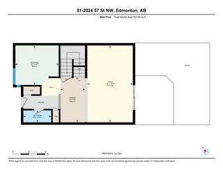 Photo 43: 81 2024 57 Street in Edmonton: Zone 29 Townhouse for sale : MLS®# E4254801