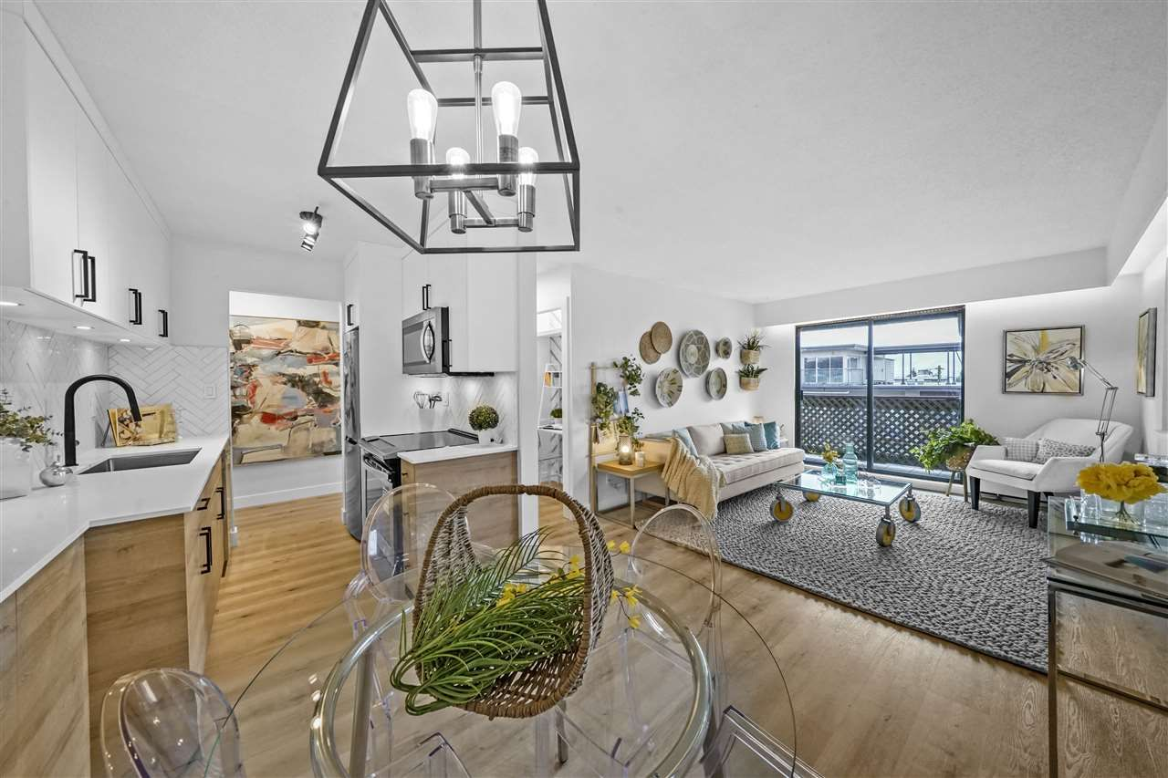 """Main Photo: 310 436 SEVENTH Street in New Westminster: Uptown NW Condo for sale in """"Regency Court"""" : MLS®# R2533431"""