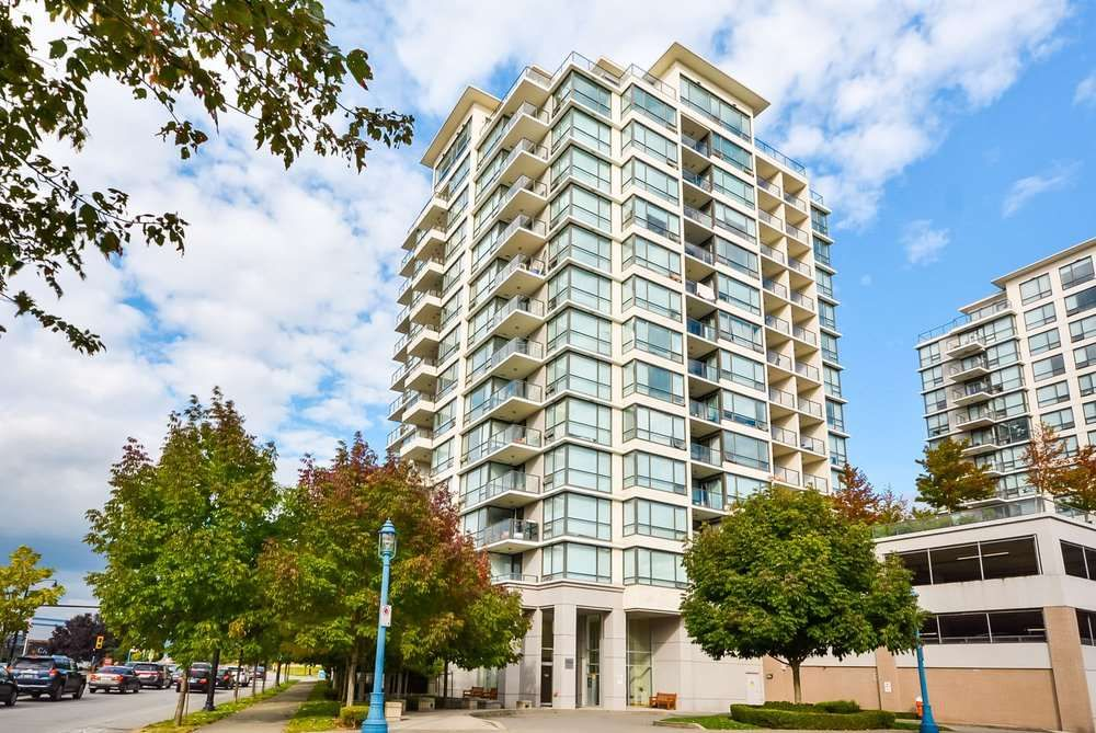 "Main Photo: 803 7555 ALDERBRIDGE Way in Richmond: Brighouse Condo for sale in ""Ocean Walk"" : MLS®# R2324375"