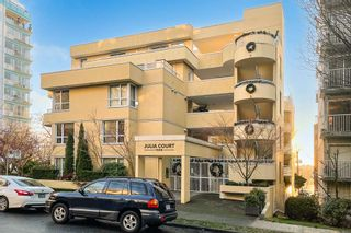 "Photo 1: 402 1406 HARWOOD Street in Vancouver: West End VW Condo for sale in ""JULIA COURT"" (Vancouver West)  : MLS®# R2527458"