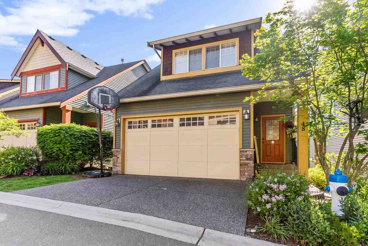 """Main Photo: 48 36169 LOWER SUMAS MOUNTAIN Road in Abbotsford: Abbotsford East Townhouse for sale in """"Junction Creek"""" : MLS®# R2584461"""