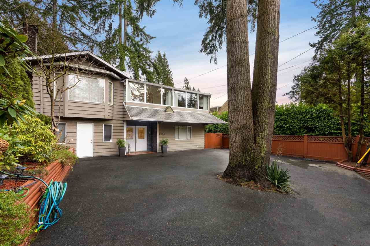 Main Photo: 4040 CAPILANO Road in North Vancouver: Canyon Heights NV House for sale : MLS®# R2541293