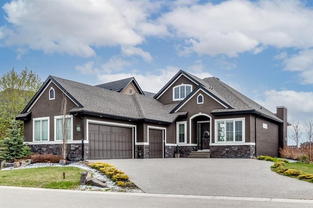Beautiful home with a triple car garage
