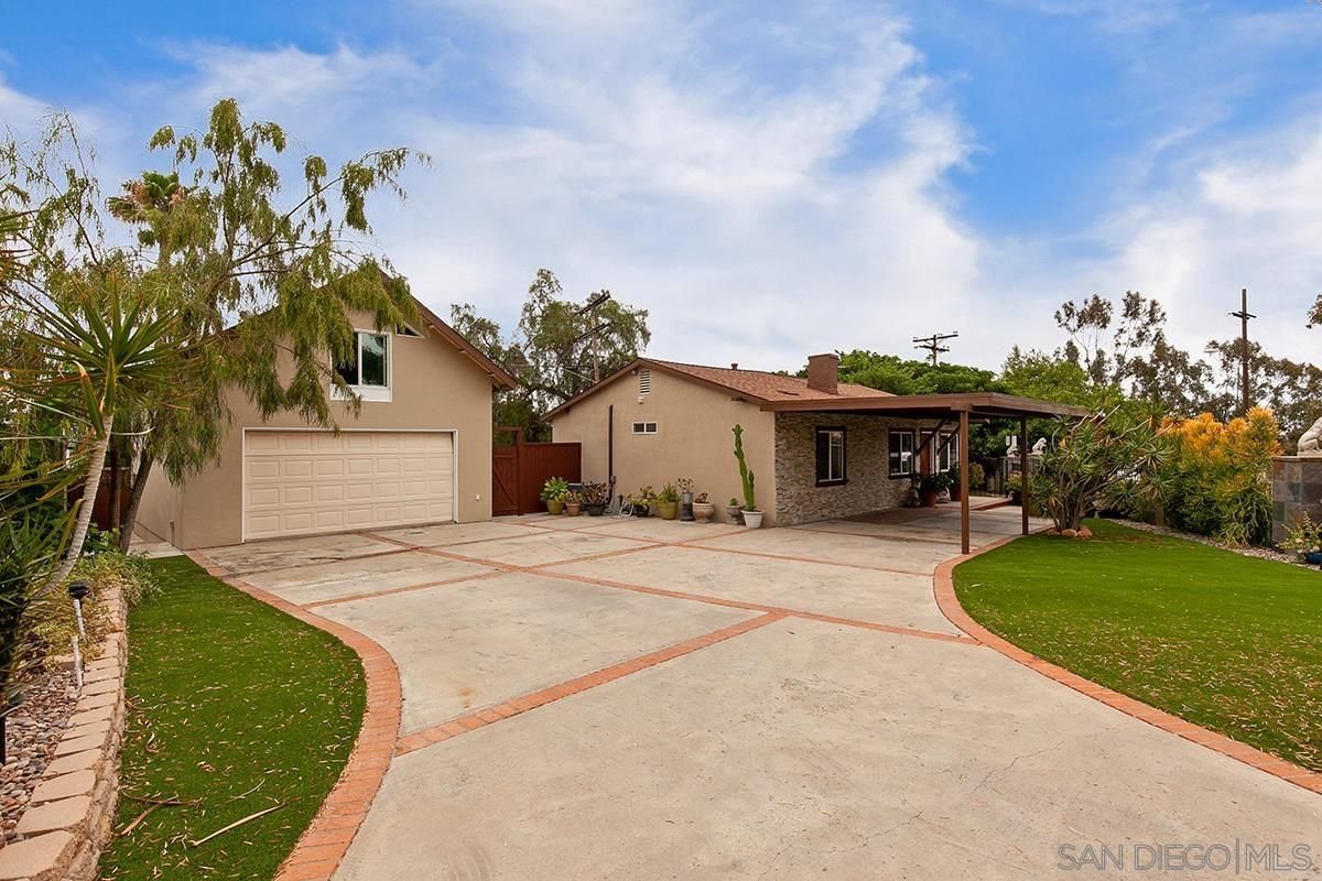Main Photo: SAN DIEGO House for sale : 4 bedrooms : 3505 Wilson Avenue