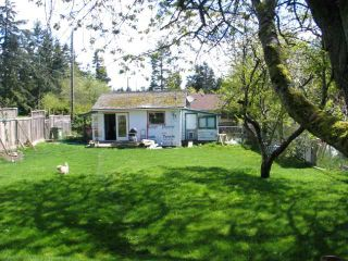 Photo 1: 1069 CHASTER Road in Gibsons: Gibsons & Area House for sale (Sunshine Coast)  : MLS®# V826289