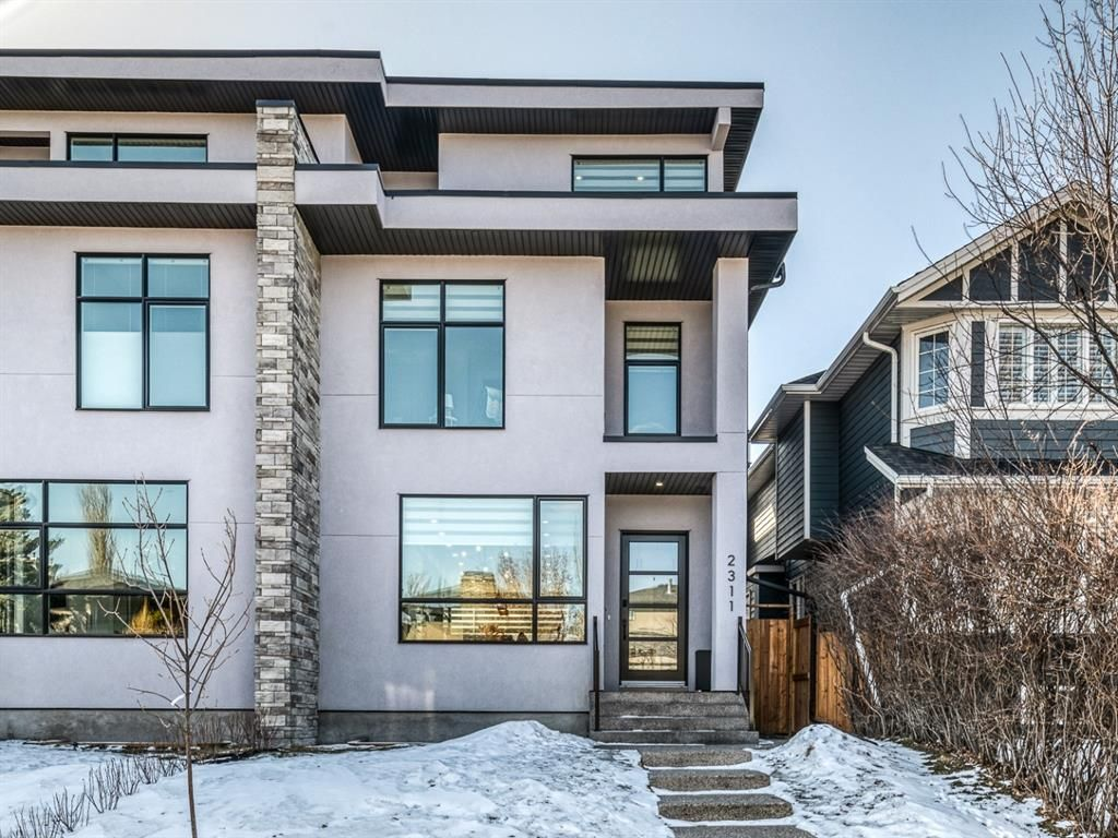 Main Photo: 2311 3 Avenue NW in Calgary: West Hillhurst Semi Detached for sale : MLS®# A1088887