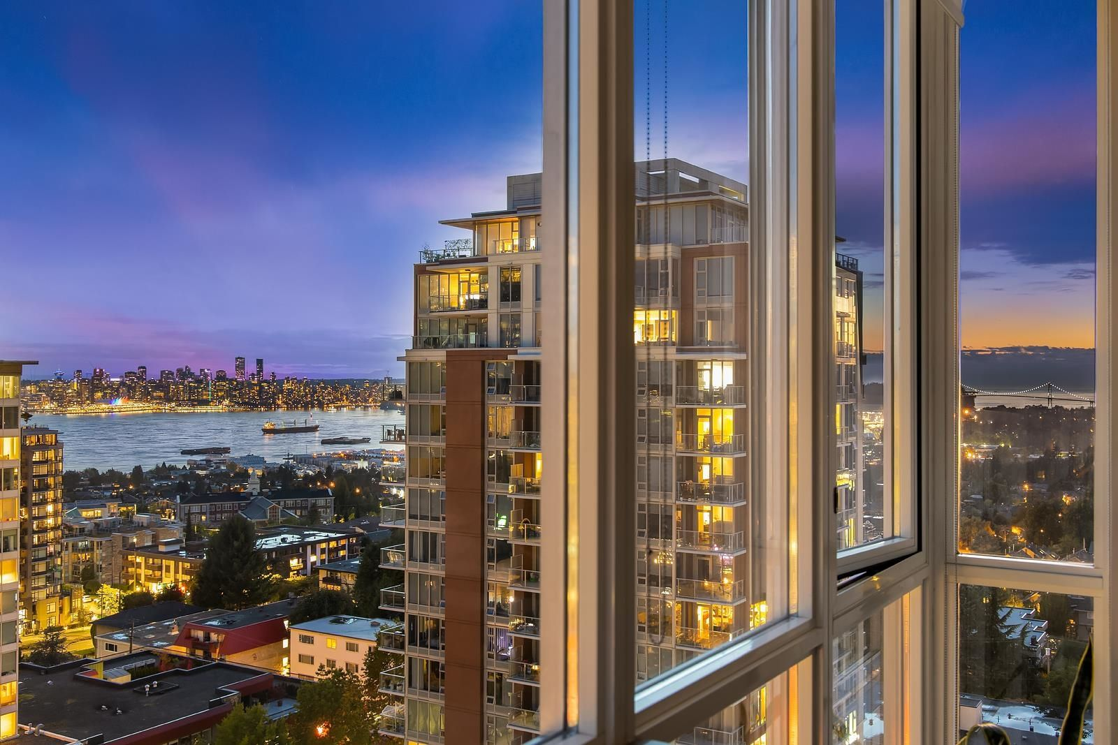 """Main Photo: 1601 121 W 16TH Street in North Vancouver: Central Lonsdale Condo for sale in """"The Silva"""" : MLS®# R2617103"""