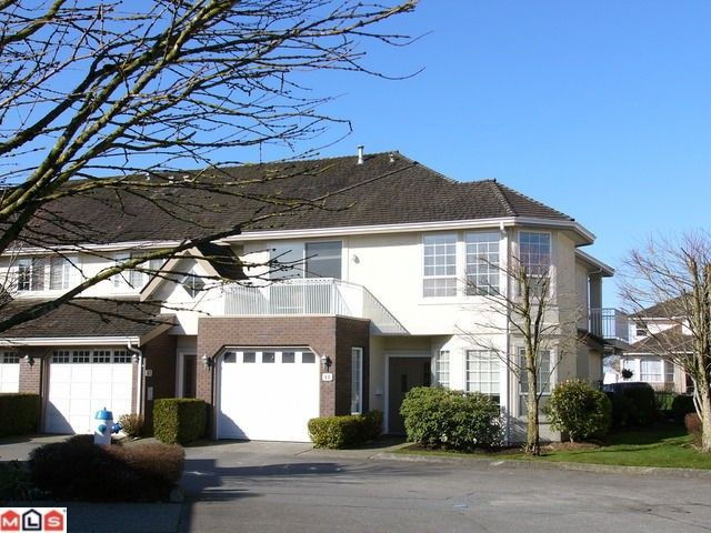 "Main Photo: 47 31450 SPUR Avenue in Abbotsford: Abbotsford West Townhouse for sale in ""LAKEPOINTE VILLAS"" : MLS®# F1207113"