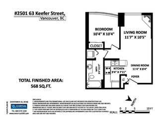 """Photo 20: 2501 63 KEEFER Place in Vancouver: Downtown VW Condo for sale in """"EUROPA"""" (Vancouver West)  : MLS®# R2324107"""