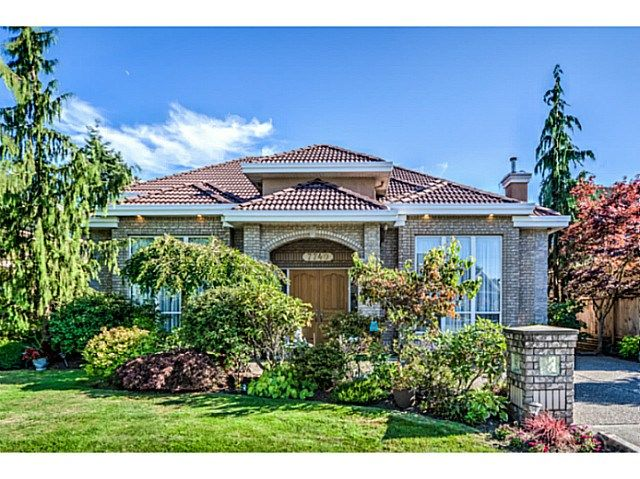 Main Photo: 7740 AFTON DR in Richmond: Broadmoor House for sale : MLS®# V1136251