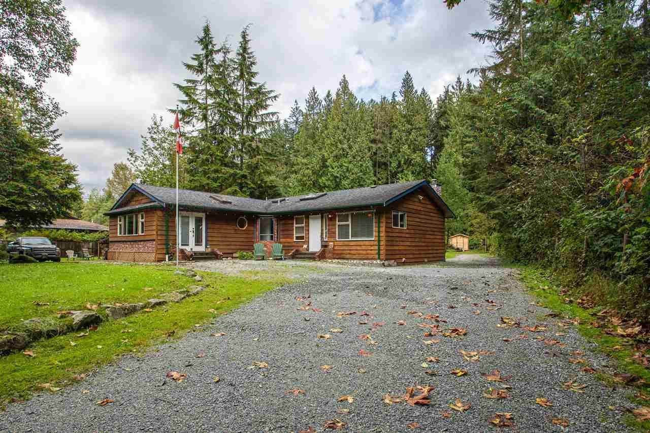 Main Photo: 11268 280 Street in Maple Ridge: Whonnock House for sale : MLS®# R2503883