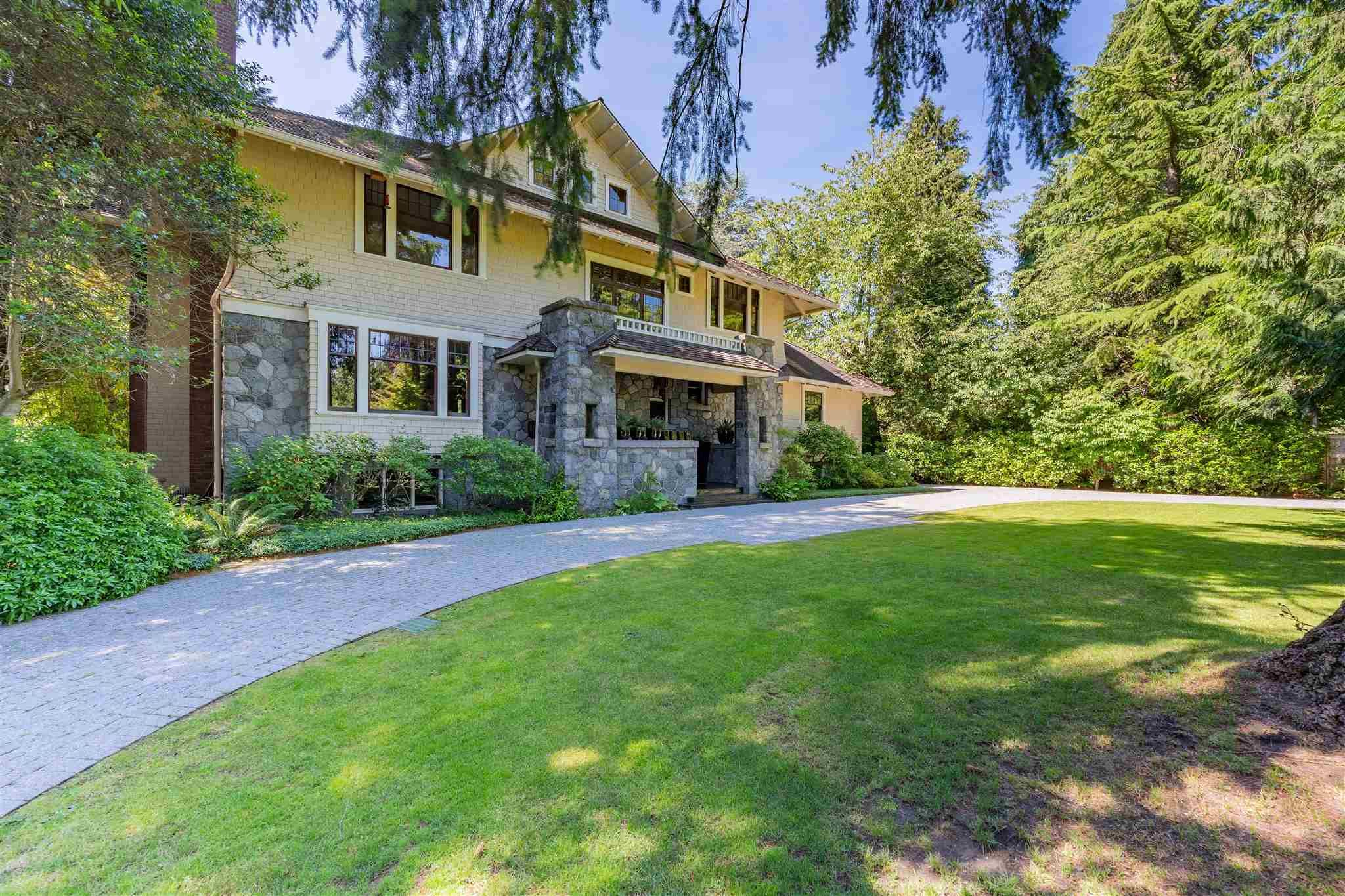 Main Photo: 3369 THE CRESCENT in Vancouver: Shaughnessy House for sale (Vancouver West)  : MLS®# R2534743