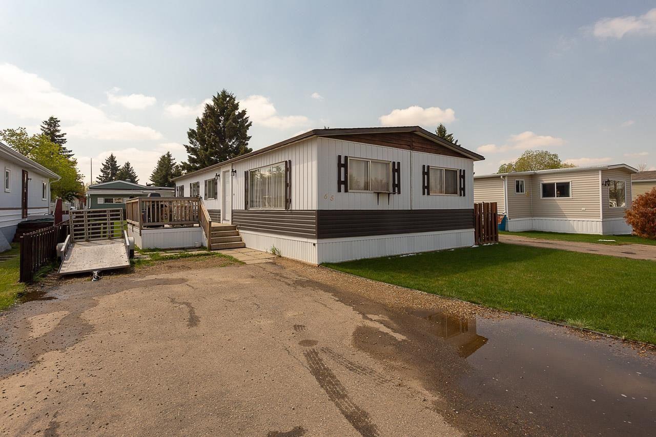 Main Photo: 65 Ridgeway Drive in Edmonton: Zone 42 Mobile for sale : MLS®# E4245726