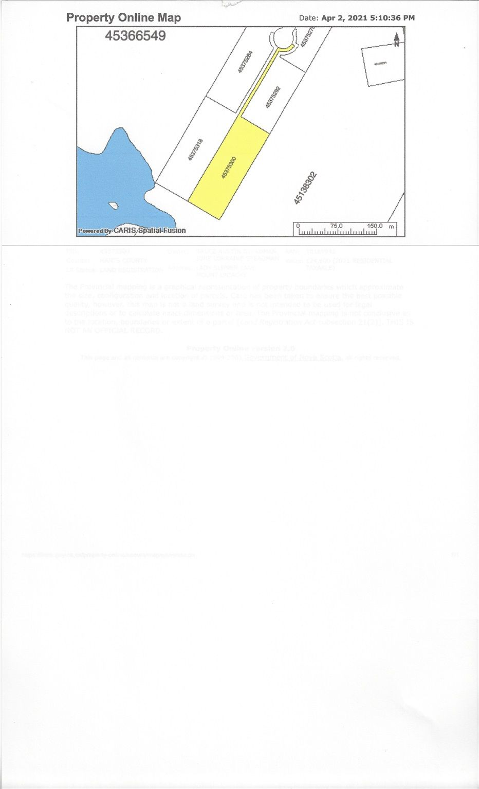 Photo 3: Photos: lot 6 Lady Slipper Lane in Mount Uniacke: 105-East Hants/Colchester West Vacant Land for sale (Halifax-Dartmouth)  : MLS®# 202107034