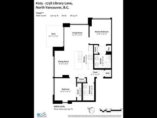 Photo 2: 205 2738 Library Lane in North Vancouver: Lynn Valley Condo for sale : MLS®# r2571373