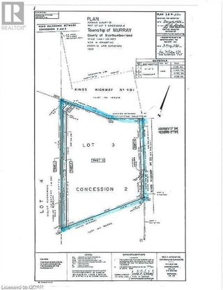 Photo 4: 198 HIGHWAY 33 in Quinte West: Vacant Land for sale : MLS®# 40164027