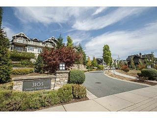 Photo 1: 133 3105 DAYANEE SPRINGS BL Boulevard in Coquitlam: Westwood Plateau Townhouse for sale : MLS®# R2244598