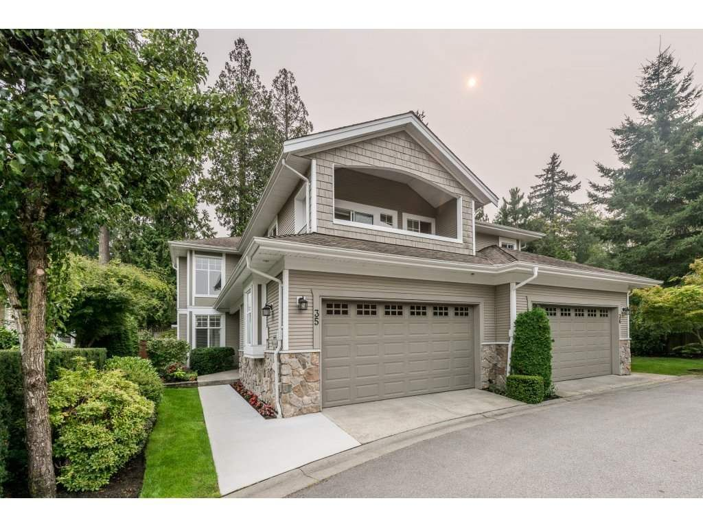 """Main Photo: 35 3500 144 Street in Surrey: Elgin Chantrell Townhouse for sale in """"THE CRESCENTS"""" (South Surrey White Rock)  : MLS®# R2202039"""