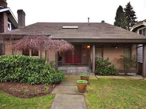 Main Photo: 3364 37TH Ave W in Vancouver West: Dunbar Home for sale ()  : MLS®# V863574
