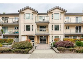 "Photo 1: 205 15255 18 Avenue in Surrey: King George Corridor Condo for sale in ""THE COURTYARD"" (South Surrey White Rock)  : MLS®# R2410845"