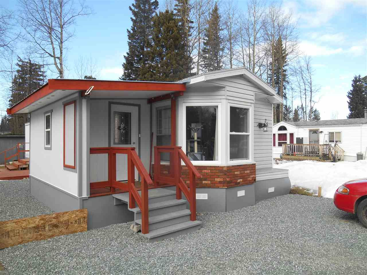 """Main Photo: 25 8474 BUNCE Road in Prince George: Haldi Manufactured Home for sale in """"TRAILER VILLAGE"""" (PG City South (Zone 74))  : MLS®# R2147074"""