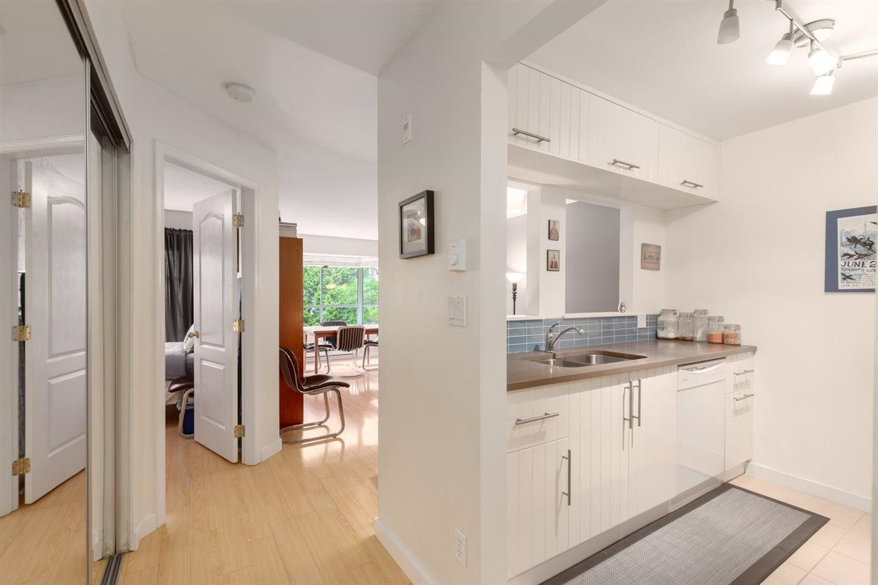 """Main Photo: 202 1729 E GEORGIA Street in Vancouver: Hastings Condo for sale in """"Georgia Court"""" (Vancouver East)  : MLS®# R2574809"""