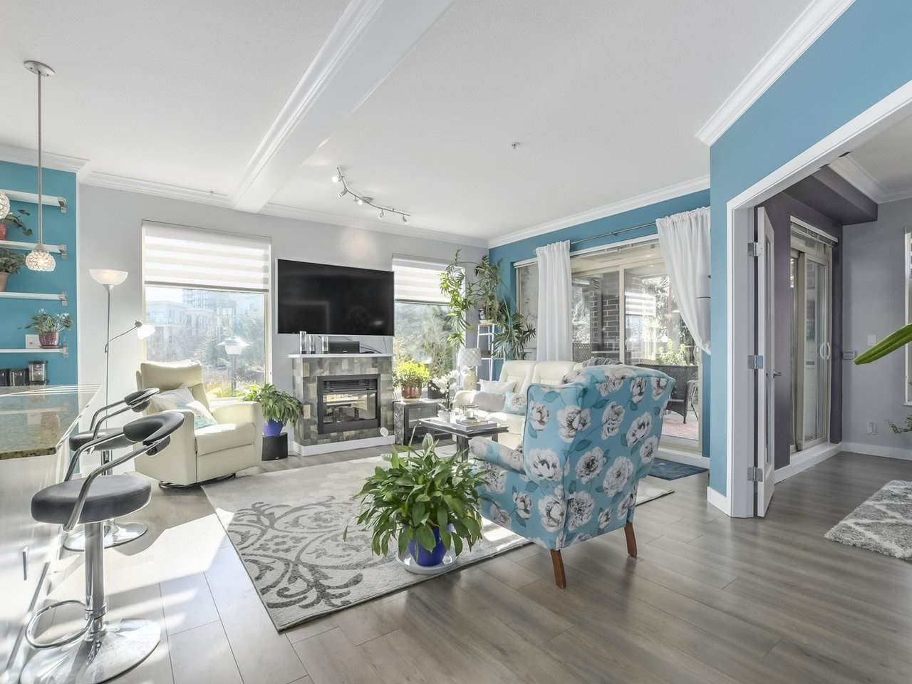"""Main Photo: 105 270 FRANCIS Way in New Westminster: Fraserview NW Condo for sale in """"The Grove"""" : MLS®# R2343463"""