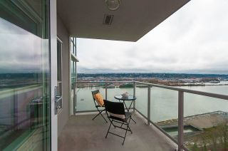 "Photo 11: 1905 125 COLUMBIA Street in New Westminster: Downtown NW Condo for sale in ""NORTHBANK"" : MLS®# R2255130"