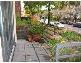 """Photo 10: 2287 W 12TH Ave in Vancouver: Kitsilano Townhouse for sale in """"MOZAIEK"""" (Vancouver West)  : MLS®# V637149"""