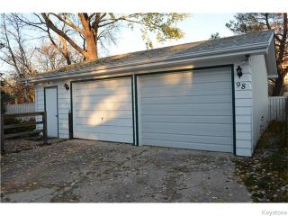 Photo 17: 98 Rutgers Bay in Winnipeg: Fort Richmond Residential for sale (1K)  : MLS®# 1628445