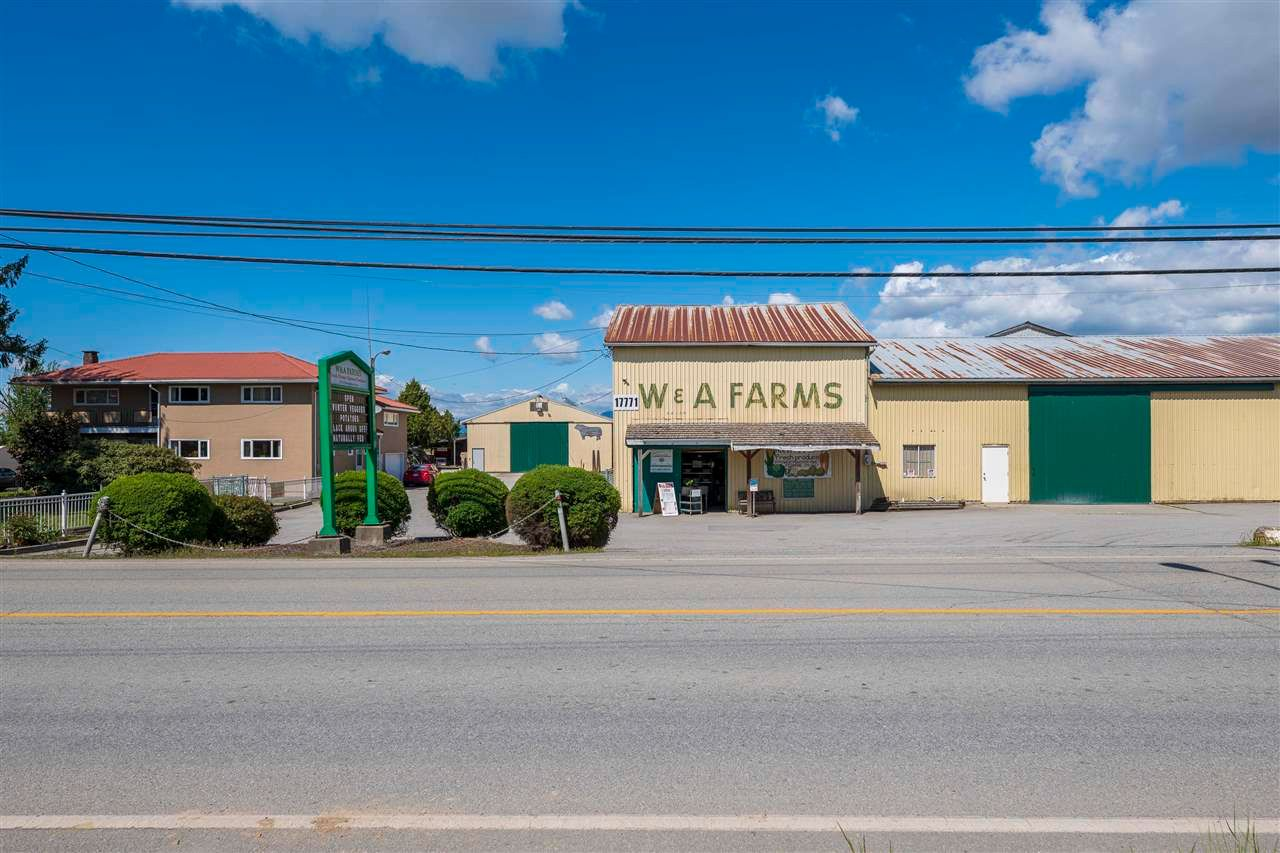 Main Photo: 17731 WESTMINSTER Highway in Richmond: East Richmond Agri-Business for sale : MLS®# C8038030