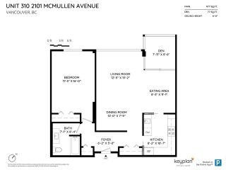 """Photo 20: 310 2101 MCMULLEN Avenue in Vancouver: Quilchena Condo for sale in """"Arbutus Village"""" (Vancouver West)  : MLS®# R2478885"""